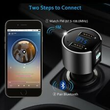 New Bluetooth Wireless Car Kit FM Transmitter Radio MP3 Audio Player USB Charger