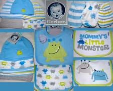 Gerber Baby Boy Monsters Pack of Bibs Mittens or Hats Matching