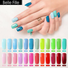 BELLE FILLE Nail Art Gel Polish Soak-off UV/LED Manicure DIY Varnish 8ml Topbase