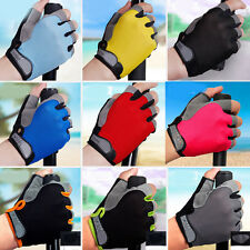Half Finger Racing Motorcycle Gloves Cycling Bicycle Road Bike Riding Mittens