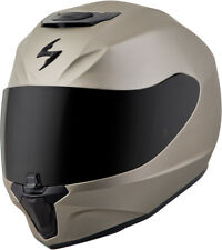 Scorpion Adult Titanium EXO-R420 Solid Full Face Motorcycle Helmet Snell DOT