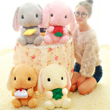 Plush Rabbit Doll Cute Stuffed Toy Big Ear Soft Cotton Cartoon Gift For Children