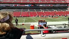 2 TICKETS NEW ORLEANS SAINTS @ TAMPA BAY BUCCANEERS SEC 134  ROW B 30 YARD LINE