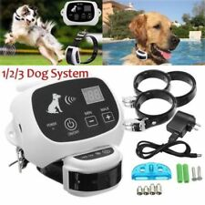 Electric Wireless Dog Fence Containment System Waterproof Pet Transmitter Collar