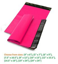 5-10,000 Poly Mailers Shipping Envelopes Sealing Plastic Mailing Bags Hot Pink