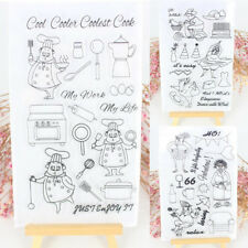 Silicone Clear Rubber Stamps Seal Scrapbooking Album Card Decor DIY Diary Craft