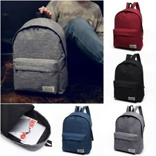 Large Men Women Travel Shoulder Purse Satchel Tote Backpack Schoolbag Book Bag
