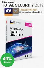 BITDEFENDER TOTAL SECURITY 2017 - Fast Delivery (eDelivery)