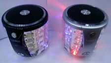 Bluetooth Speaker colorful light Card Speakers T2096A subwoofer sound flash AA