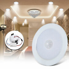 5/7W LED Panel Light PIR Motion Sensor Downlight Super Bright Round Ceiling XP