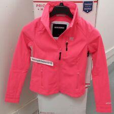 ABERCROMBIE & FITCH WOMENS ACTIVE SOFT SHELL JACKET CORAL SIZE SMALL A&F