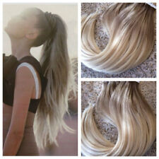 New Brazilian Remy Tape in Human Hair Extension Ombre Blonde Skin Weft