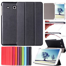 For Samsung Galaxy Tab A E J T280 T377 T560 Tablet PU Leather Folio Stand Case