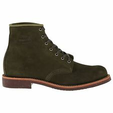 Chippewa 1901M85 Chocolate Moss Mens Suede Utility Ankle Boots