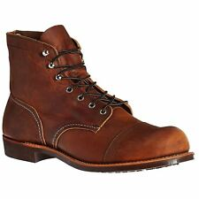 Red Wing Iron Ranger 8085 Copper Mens Leather Work USA High Ankle Boots