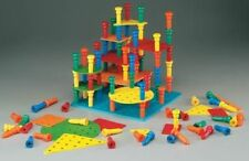 Tall Stacker Building Set - Sorting, Stacking, Lacing Toys by Lauri (2450)