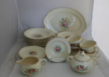 Taylor Smith Taylor Lu-Ray Pastels Replacement Dinnerware Floral Choice Vintage