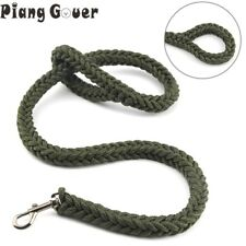 Pet Lead Traction Rope Leash Braided Collar Training Harness Dog Nylon Durable
