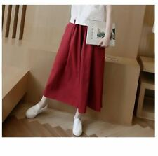 New Fashion Plus Size Stretchy High Waist Casual Wear Palazzo Pant for Women