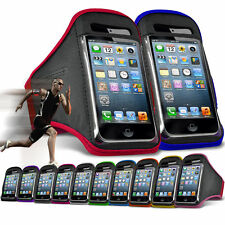 """For LG X screen (4.93"""") Running Jogging Sports Gym Armband Mobile Holder Case"""