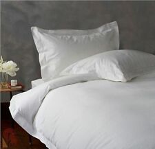 800TC EGYPTIAN COTTON BEDDING COLL. SHEET SET+DUVET COVER+BED SKIRT WHITE