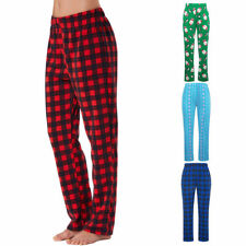 2018 Fashion Comfortable Flannel Pajama Long Lounge Pants Trouser Sleepwear Xmas