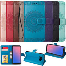 For Samsung Galaxy S8 Plus Shockproof Flip Card Slot Wallet Leather Case Cover