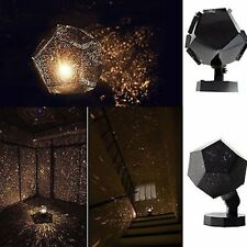 Romatic Cosmos Moon Star Master LED Starry Night Sky Light Lamp For Baby Kids XK