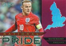 2015 Panini Select Soccer 'National Pride' Red Parallel Serial Numbered /199