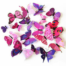 12/24pcs 3D Wall Stickers Butterfly Fridge Magnet Wedding Decoration Home Ornate