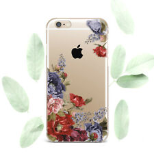 Cute Summer Floral Flowers Silicone Soft Rubber Case Cover Back For Apple iPhone