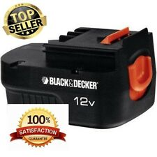 2 pack Black&Decker Firestorm 12V Slide Battery Pack New HPB12 Replacement