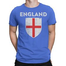 Nyc Factory Uk England Soccer Jersey Flag Mens Tee Blue T-Shirt Nyc Factory