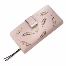 Women Wallet Leather Card Coin Holder Money Clip Long Phone Clutch Purse