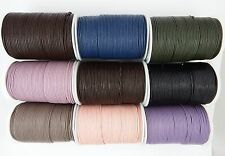 100% Real round leather cord 1.5,2,3,4,5mm jewellery necklace braclet tool