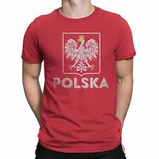 Nyc Factory Poland Polska Tee Mens Tee Red T-Shirt poland-polska-mens-tee-red-s