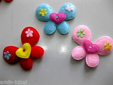 6 cuddly Applications,Butterflies in 3 colours,Baby,Dolls