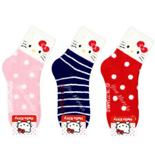 Sanrio Genuine Hello Kitty Winter Bed Socks Fluffy Floor Slipper Socks Gift