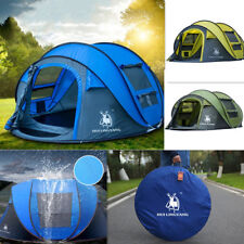 OUTDOORS Camping 3-4 persons Tent Pop up tent Waterproof Windproof Ultraviolet