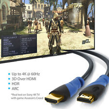 4K/HD TVs,Xbox 360/One,PS3,PS4,Apple TV,TV Receiver,Computer,Blu Ray HDMI Cable