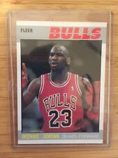 1987 FLEER BASKETBALL RP CARD #59 MICHAEL JORDAN - Near Mint - Free Shipping