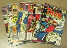 Marvel Comics THE MIGHTY THOR 1985 -93 ~ 8 Comics ~ Bagged