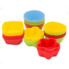 5 Piece Silicone Cup Cake Bun Moulds