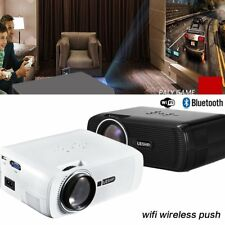 NEW WiFi LED LCD Home Cinema Projector TV Movie HDMI USB VGA Full HD 1080P PRO