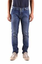 Jacob Cohen Men's Mcbi160075o Blue Cotton Jeans