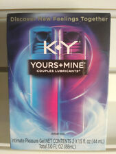 K-Y KY Yours and Mine Couples Lubricant 3 Oz Him Her Sex Lube Intimate Pleasure