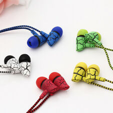 Sport Earphone 3.5mm Wired Headset Super Bass Crack Earphone Earbud with Mic