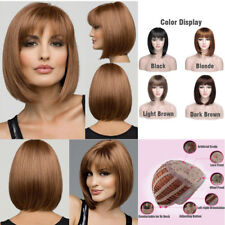 Ladies Wigs Short Straight Hair Bob Style Cosplay Party Costume Fancy Dress Wig