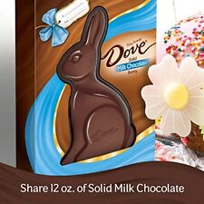 Easter Bunny Solid Milk Chocolate DOVE Chocolate Candy Gifts FREE SHIPPING