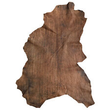 Sale Brown Leather Hides Lambskin Soft Skins Rustic Hides Craft Material  F875